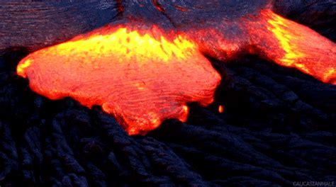 Lava L Animation by Eruption Gifs Wifflegif