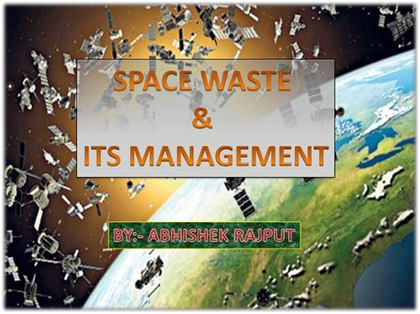 Waste Of Space Mba 3 by Space Waste Management
