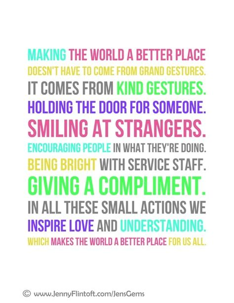 make the world a better place lyrics the world a better place quotes quotesgram