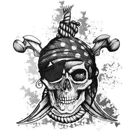 dessin bateau pirate tatouage tatouage temporaire ou ephemere de tete de mort de pirate