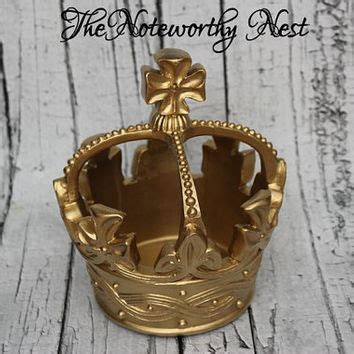 crown decor crown decor gold crown resin crown from the
