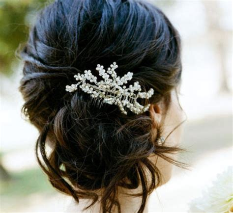 Wedding Hairstyles With Jewels by Wedding Hair With Flowers Jewels Wedding Hairstyle 1