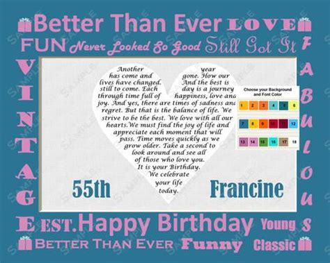 personalized unique birthday gift   ages     tim