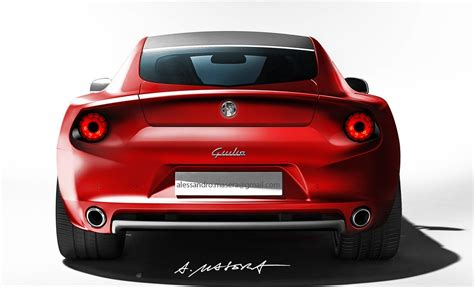 2014 Alfa Romeo by 2014 Alfa Romeo Giulia Rendered