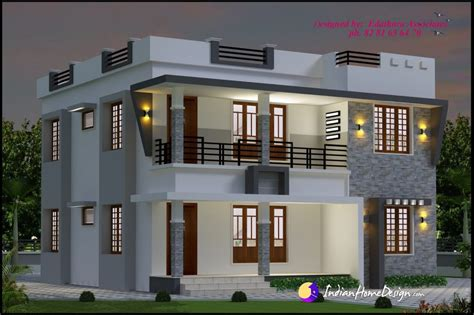 kerala home design double floor 1696 sqft modern double floor kerala home design