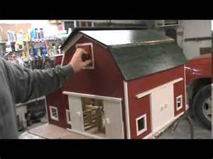 Breyer Wooden Barn Hip Roof Toy Barn By Kauffman S Wood Kreations Youtube