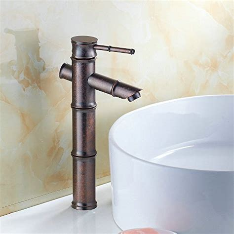 Rustic Sink Faucets by Hiendure 174 Antique Copper Finish Bathroom Sink Faucet