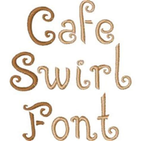 swirl pattern font caf 233 swirl font by embroidery patterns home format fonts