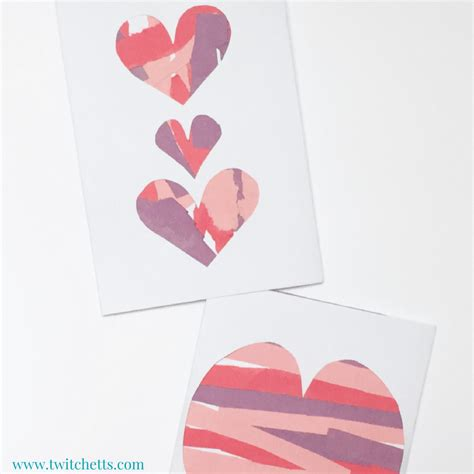 Construction Paper Valentines Day Crafts - scissor practice valentines family crafts