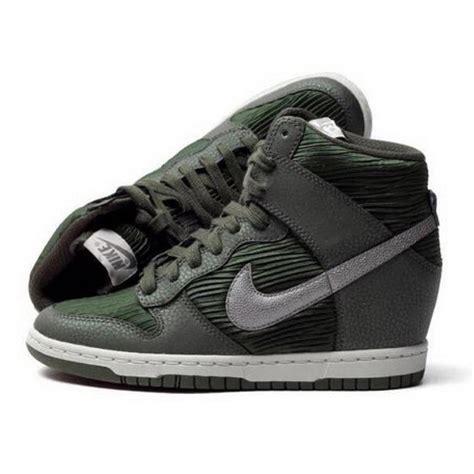 Sneakers Wedges Nike Sky High Dunk Grade Ori nike green sky high dunk wedge sneakers size us 7 regular m b tradesy