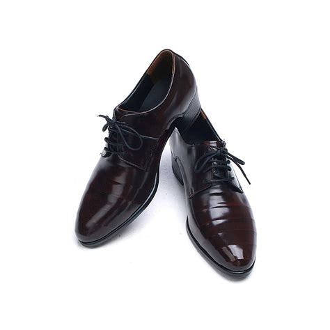 high heel shoes dress up mens line wrinkles lace up high heels dress shoes