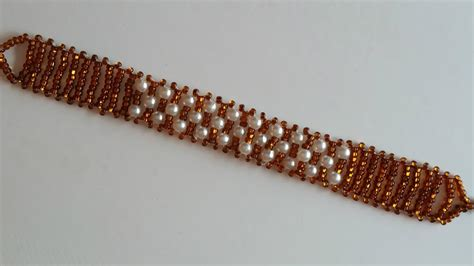 seed bead tutorials for beginners beaded bracelet for beginners seed and pearl