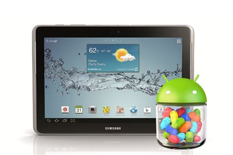 Samsung Tab Jelly Bean Sprint S Samsung Galaxy Tab 2 10 1 Gets Android 4 1 Jelly Bean Update
