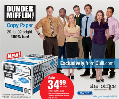How Much Money Is On My Staples Gift Card - the office goes public dunder mifflin paper coming to stores