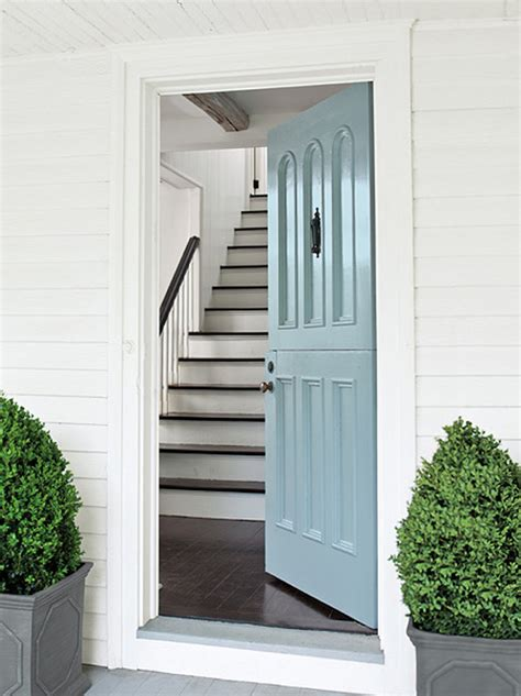 blue front door colors popular front door paint colors