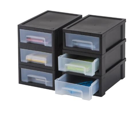 Small Desktop Drawers iris small desktop stacking drawer 6 pack new ebay