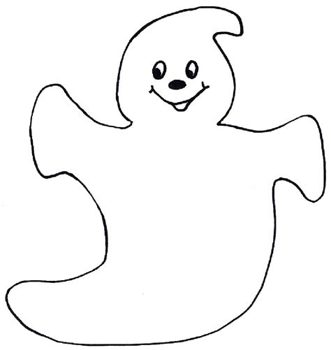 Printable Paper Ghost | halloween ghost template halloween ghost templates i