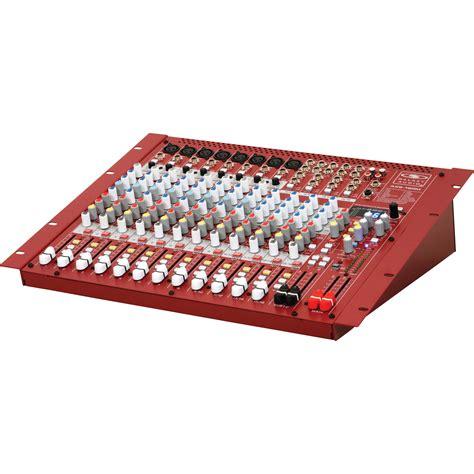 galaxy audio axs 16rm 16 input analog audio mixer axs 16rm b h