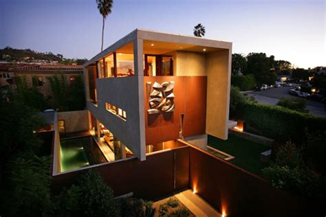 california home design modern california architecture on a former brown field