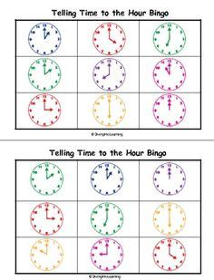 printable clock matching game 1000 images about clocks 1st grade on pinterest 1st