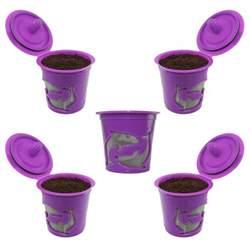Keurig K cups Keurig 2.0 Reusable K cup Filter For Keurig 2.0 & 1.0, 5 Pack   Coffee Pods & K Cups
