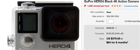 gopro 3 silver best price great deal gopro hero4 black and hero3 silver at great