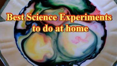 Experiments To Do At Home by The Best Do It Yourself Science Tricks You Can Do At Home