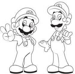 Malvorlagen Mario Luigi L L L L