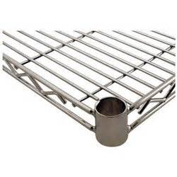 chrome wire shelving accessories challenger chrome wire shelf 18 quot x 18