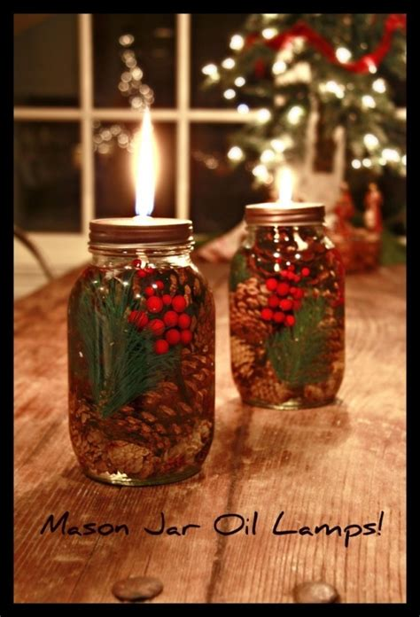 crafts made from jars crafts christmas oil l