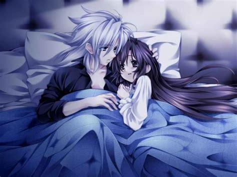 anime couple in bed love in bed anime couple pinterest love and beds