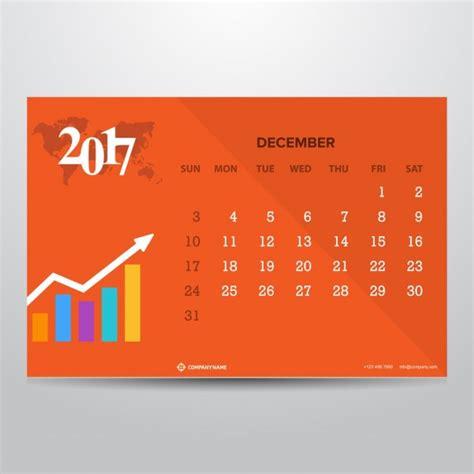 Calendã Dezembro De 2017 Calend 225 De Laranja Para Dezembro 2017 Baixar Vetores