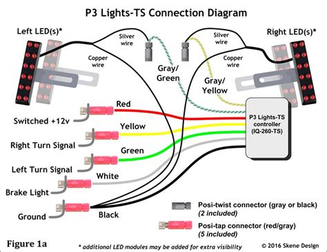 how to hook up led lights wiring diagrams wiring