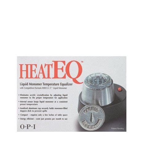 opi heat eq liquid warmer monomer temperature equalizer