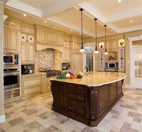 Large Kitchen With Island Miscellaneous Large Kitchen Island Design Ideas