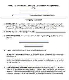 Llc Operating Agreement Sle Template Llc Partnership Agreement Sle Save New Mexico Llc Operating Agreement Template