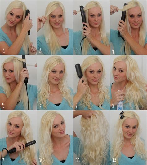 how to curl your hair with flat iron review catok amara flat iron tutorial short hair newhairstylesformen2014 com