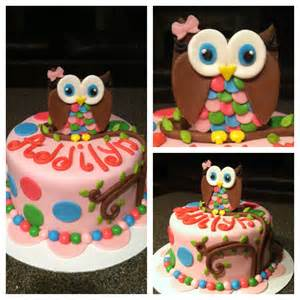 owl cake cake decorating ideas