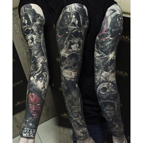 star wars tattoo sleeve 25 best ideas about wars on