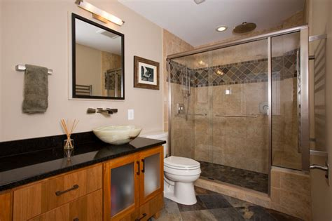 Mission Style Bathroom Mission Style Master Bath Craftsman Bathroom Other Metro By Schroeder Design Build Inc