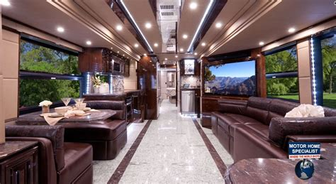 Luxury Motor Homes 2 2 Million Outlaw Luxury Prevost Rv At Mhsrv Quot The Residency Quot