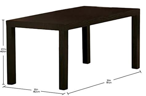 dhp parsons modern coffee table dhp parsons modern coffee table dark espresso import it all