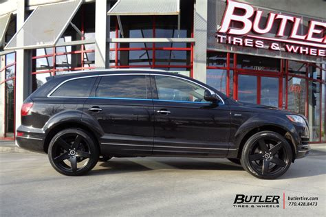 audi q7 tyres audi q7 with 22in victor baden wheels exclusively from