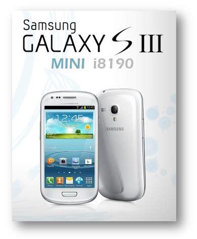 Hp Samsung S3 Mini I8190 cara baru root samsung galaxy s3 mini tanpa pc info sejagad