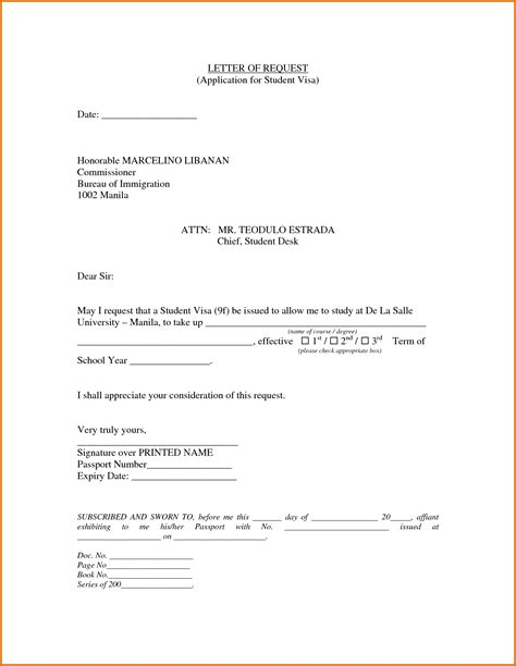Loan Letter Format For Uk Student Visa cover letter applying visa