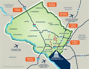 map of montgomery about montgomery county md must see in dc