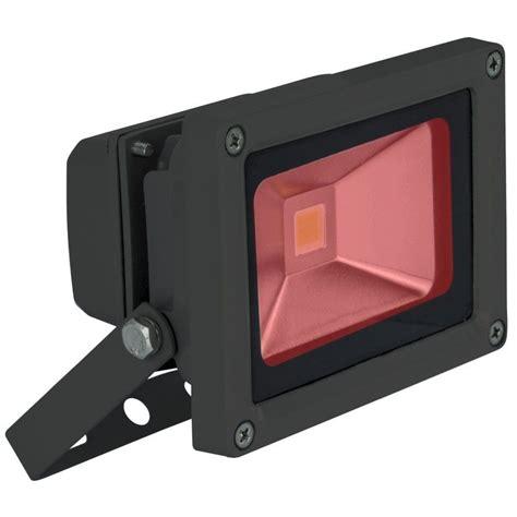 red led flood light red 10 watt high powered led flood light