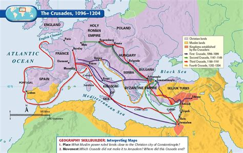 middle east map assignment a map assignment the crusades mr brunken s