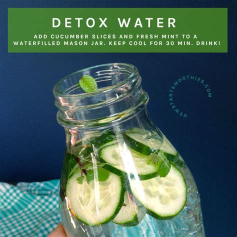 Detoxing Feelings by Detox Water Feelings New Start Smoothies