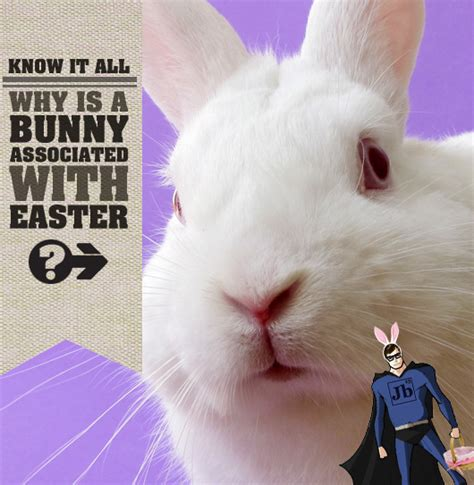 why is st associated with why is a bunny associated with easter